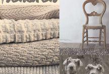 Inspiration: home - knitting