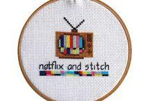 Stitch N Bitch Group / Just a couple of gals stitchn' N bitchn'