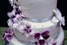 Pasteles De Boda Púrpura