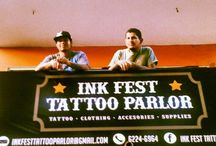 Ink Fest tattoo Parlor  / Everything to do with my tattoo shop, from the people in it, clients , atists and merchandise available etc . / by Yessica Sinisterra