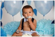 Baby boy 1st birthday