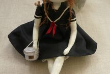 Dolls, puppets and sculpture