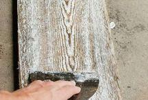 Acabamentos madeira
