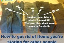 Getting Organized / by Goodwill Industries of Middle Tennessee
