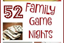 Family Game Nights / Bring back the nights of device-free play. Cards, boards, dice, and more, but no screens eligible.