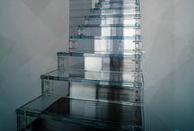 Escadas de vidro / Escadas lindas para inspirar você!