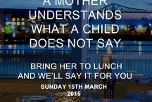 Mother's Day 2015 / Come to brasserie Hudson Quay for Mother's Day 2015
