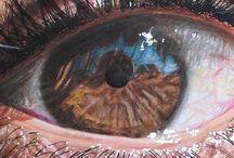 eyes in art