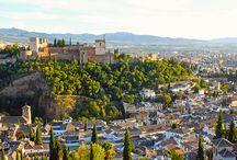 Granada and Sevilla
