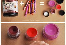 hacer pintalabios