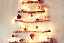 Christmas Home Decor Easy DIY Ideas / We've got some EASY and beautiful alternative Christmas tree design ideas that will knock your stockings off! For even more design ideas, visit our interior design blog: http://www.DesignConnectionInc.com/Blog