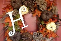 Fall decorations / by Jennifer Mc