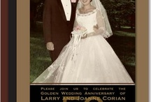 50th Wedding Anniversary / by Debbie @ Debbie Does Creations