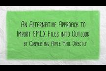 EMLX to PST Converter