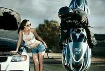 motorbike photoshoot