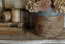 Inspiration - Vintage / Anything with patina, fading or sepia hues