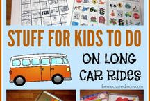 Road Trip and Travel Activities / Use these tips and activities to keep your little ones occupied during long trips. / by Coolibar