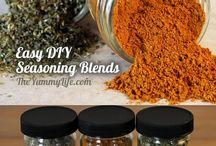 Herb and spice mixes