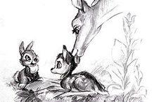 Drawing animals inspiration