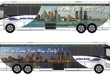Indian Trails   Pure Michigan Motorcoaches / A new partnership with Michigan Department of Transportation, we're rolling out new Pure Michigan motorcoaches.  In keeping with a tradition begun in the 1930s by Cora Taylor, every motorcoach is named in honor of a Native American Indian chief: Black Hawk, White Pigeon, Moa-Na-Hon-Ga, Sagamaw, Wa-Na-Ta, Esh-Tah-Hum-Leah, Chebainse, and Cheogemaw.