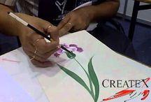 pintura en tela / by ma de los angeles cisneros
