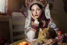 Русский народный стиль