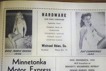 Miss Minnesota 1944, Patricia Ann Cummings / Patricia competed for Miss America in September of 1944.