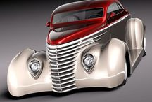 Hot Rods & Customs / by james hontz