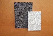 Minhas Encadernações - Dona Folha / Trabalho artesanal de encadernação manual artística desenvolvido por mim.