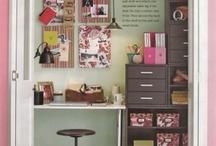 Office/ Craft Closet Inspiration
