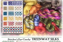 Stitcher's Eye Candy / All things that stitchers love and long for...  Stop in and see what tempts and inspires you!