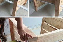 Holzsachen bauen