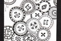 Zentangling, mandalas, cool doodles or ideas for drawing / by voxpopulli