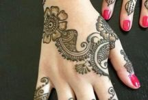 Mehendi designs / by Rozina Hussain