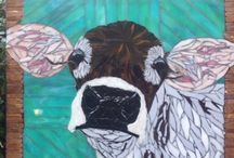 Mosaic Cows