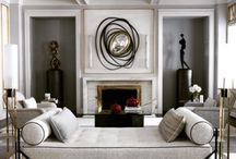 Classical interior / Modern stylization of classical interior traditions