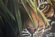 Dipinti animali Grassi Katia istagram katia_paint