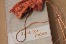 Projects with Prose / Knitting and books, books and knitting