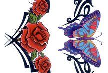 Donne tatuaggi tribali
