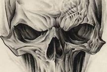 Totenkopfdesign