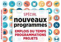 Nouveaux programmes 2016 (Cycles 2 et 3) / Emplois du temps et programmations conformes aux nouveaux programmes 2016