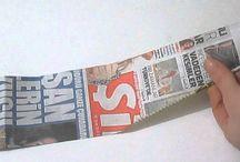 gazeteden sepet