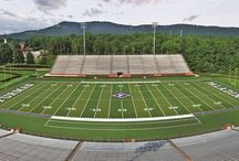 College Fields / Here are some great photos of college fields installed by Shaw Sports Turf.