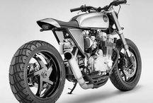 Motos Racer et Vintage