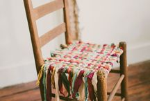 upcycled furniture / repurpose and painted chair ideas / by Shannon Olson -A Southern Belle With Northern Roots/Junkflirt