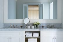 master bathroom / by Virginia Pope