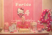 Hello kitty birthday party / Hello kitty birthday party decorations