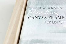 how to make a float frame