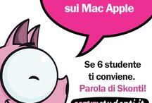 Offerte studenti / Tutti gli sconti e le offerte riservati a studenti e docenti di scuola e università