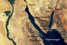 Utazás -Vörös tenger / Egyiptom ,Taba ,  Sofitel hotel, Strand hotel... Repülőút, pakolás...